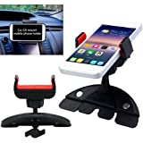 Bluelans® Universal Smartphone Car CD Slot Mount Holder Cradle Stand for iPhone 6/ 6+ Samsung Galaxy S5/S4/S3 Note 2/3/4 (holds mobile devices without case from 55mm to 83mm wide)