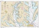 NOAA Chart 12280: Chesapeake Bay 33.7 x 46.5 (TRADITIONAL PAPER)