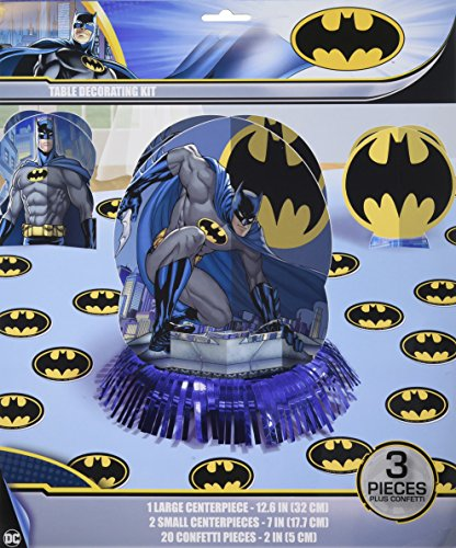 Amscan Batman Table Decorating Kit, Party Favor, 6 Ct.]()