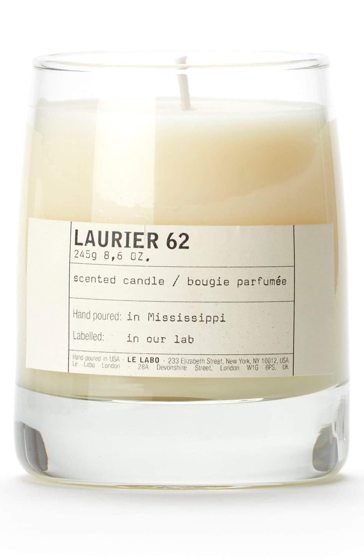 Le Labo Laurier 62 Classic Candle 8.6 oz.