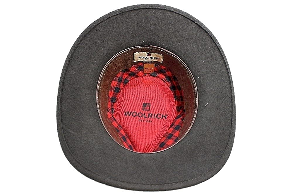 Woolrich Mens 100/% Wool Olive Crushable Outback Hat