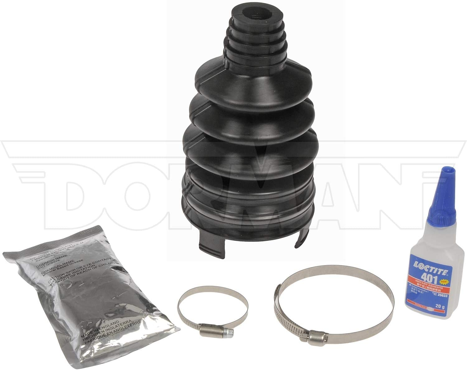 2X UNIVERSAL STRETCH DRIVE SHAFT GAITER CV JOINT BOOT KIT /& X1 FITTING CONE