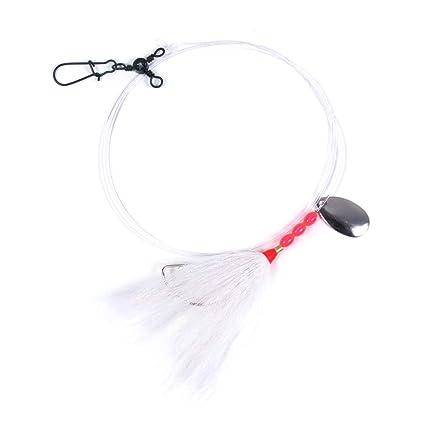 Amazon Com Sea Striker N8955 Wh Fluke Rigs 3 Way Fishing Swivel