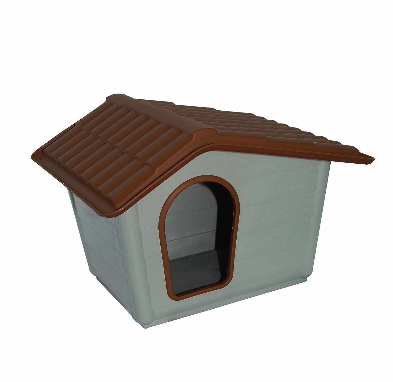 AQPET - Caseta para perros y gatos - Modelo Sprint Mini - Ideal para cachorros de 2-8 kg - Desmontable, perfecta para el jardín: Amazon.es: Jardín