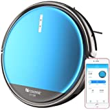 Proscenic 800T Robot Vacuum Cleaner, Alexa and App Control, Updated Robotic Vacuum Cleaner with 1800Pa Strong Suction and Big Water Tank, Sweep and Mop 2 in 1, for Hard Floor and Carpets