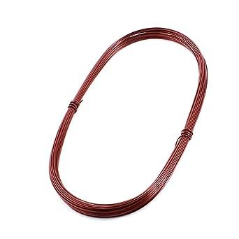Sourcingmap - 1 mm de cobre esmaltado de soldadura de alambre bobinado de bobina 15 longitud