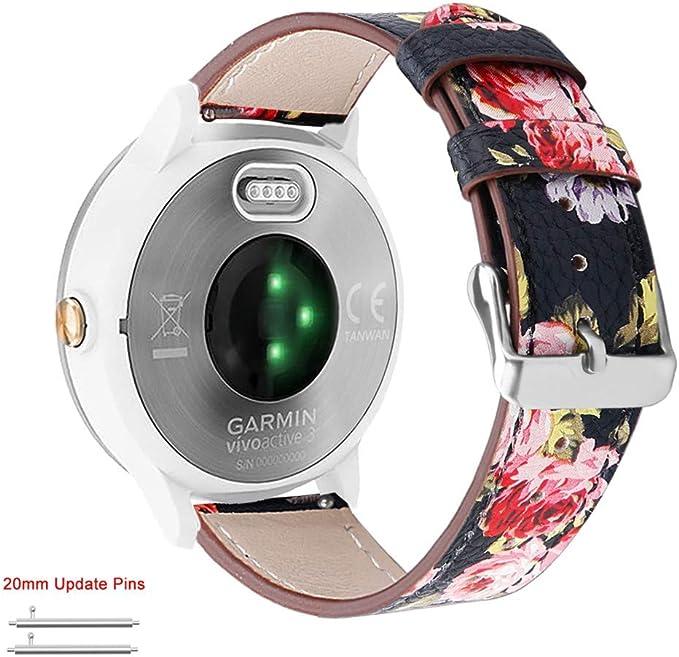 Amazon.com: Abanen Correa para reloj Garmin Vivoactive 3 ...