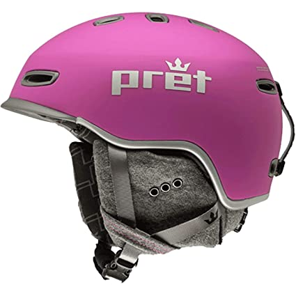 Amazon.com: Pret Cascos Lyric - Casco para mujer, M: Sports ...