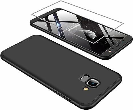 Funda Samsung J6 2018 Cubierta de 360°Caja AILZH Protección de ...