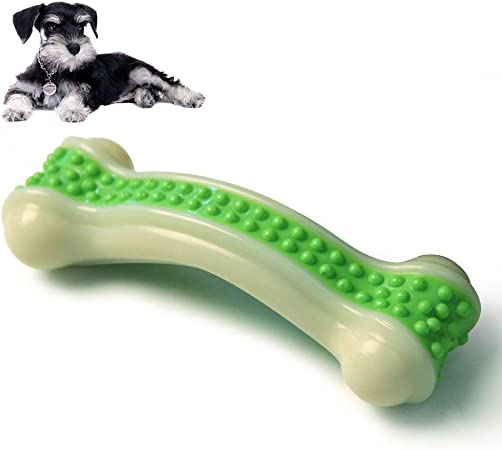 Amazon.com: Perro Juguetes de masticación, hueso para ...