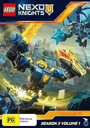 Amazon com: Lego Nexo Knights: Season 3 Volume 1   NON-USA