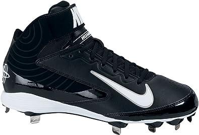 Amazon.com: Nike Mens Huarache Strike Mid Metal Baseball ...