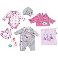 BABY born Deluxe Care and Dress 823538 - Juego de ropita para muñeca