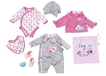 fb97dcc5b Baby Born 823538 Deluxe Care and Dress Set  Amazon.co.uk  Toys   Games