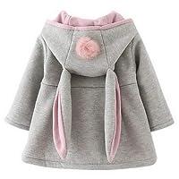 ARAUS-Manteau Fille Vêtement d'hiver pour Enfants Fille pour 0-4 Ans