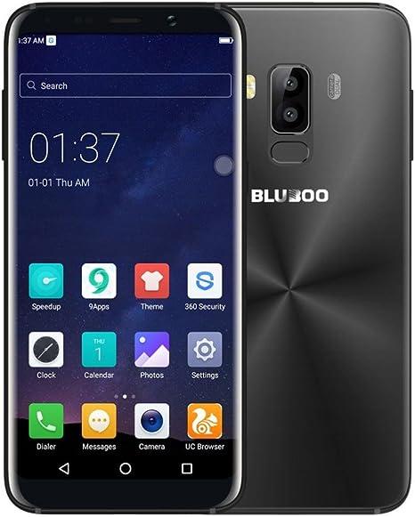 Gaddrt Bluboo S8 Android 7.0 Smartphone 4 GB + 32 GB Teléfono Celular con Doble cámara teléfonos móviles de – 5.7 Inch, Negro: Amazon.es: Deportes y aire libre