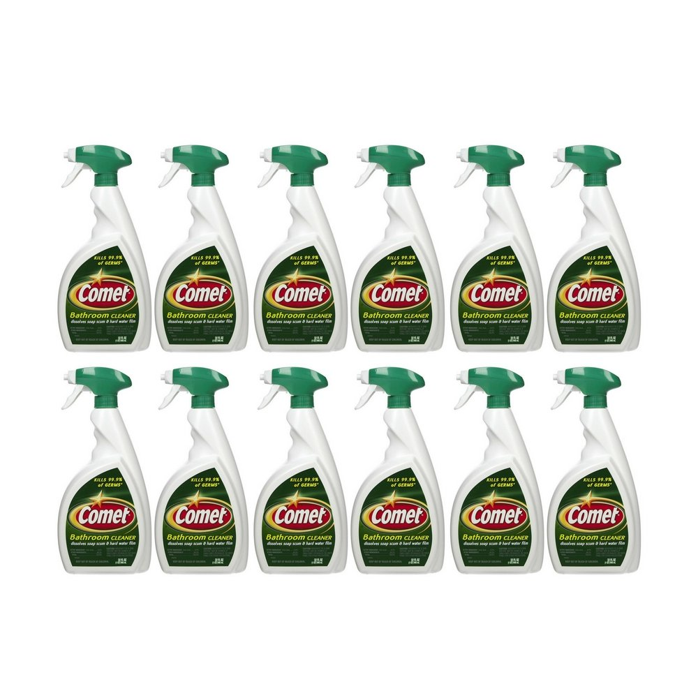 Comet Bathroom Cleaner Spray - 32 oz (12 Pack)