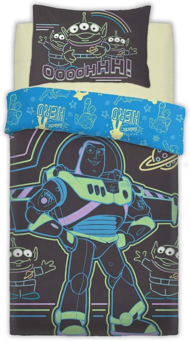 Luxurious Toy Story Intergalactic Disney Duvet Cover Set Reversible Bedding Sets