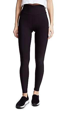 ef204e9669dfa6 Plush Women's High Waist Matte Fleece Leggings, Black, X-Small at ...
