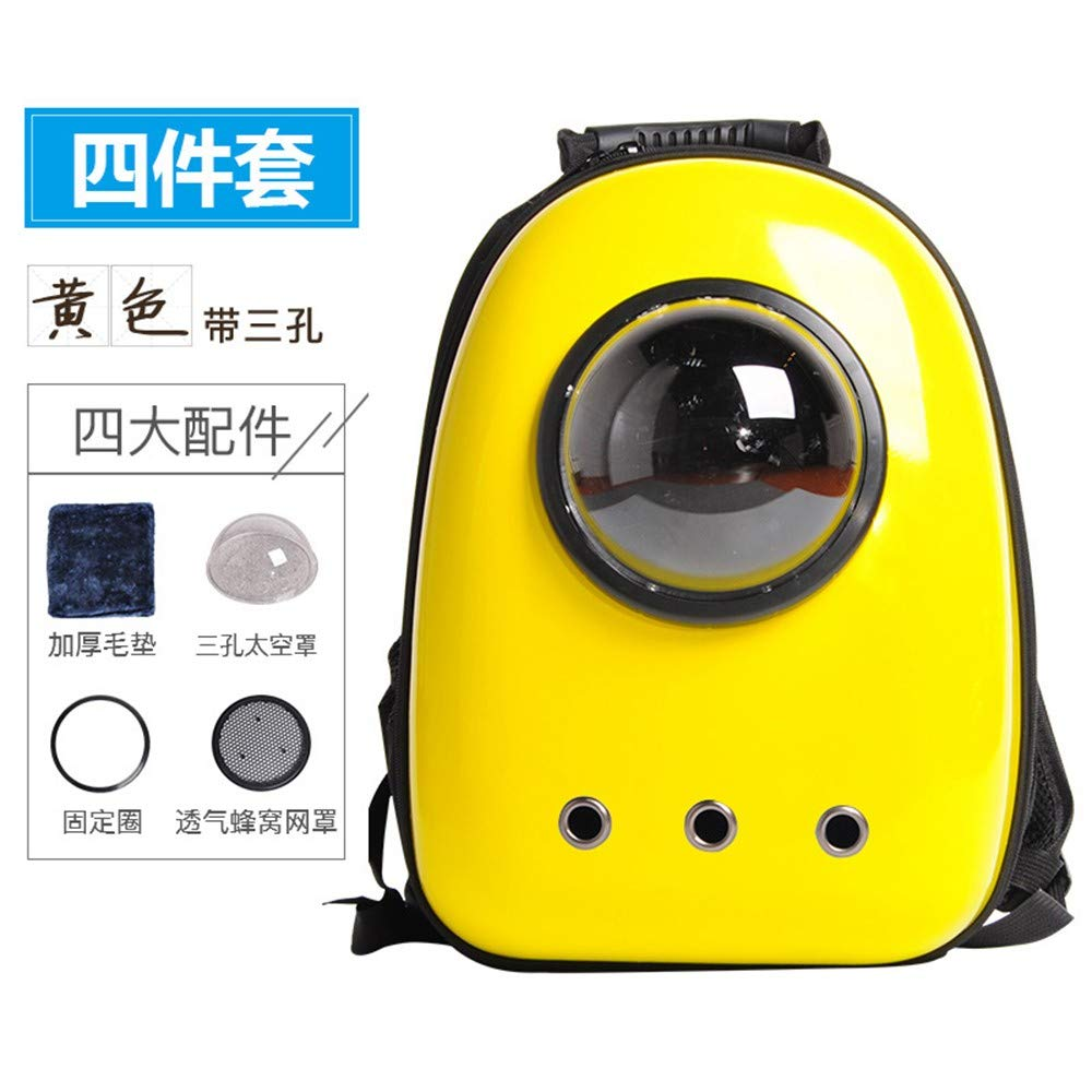 9 8 9 8 HYLIUB Pet Carrier Backpack Small Animal Carriers Space pet Bag Space Bag Backpack Out Travel Bag Carrying Bag Backpack 9,8