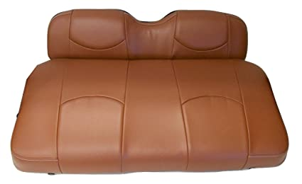 Kool Cushions CCPREC SADDLEFR 01 Custom Vinyl Golf Cart Seat Covers Front And