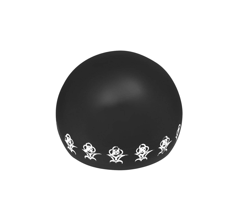 リアン (Lien) 7月ルビー ペット専用骨壺 メモリアルボール リアン オープンフラワー オレンジ B07BG34M26 ブラック  ブラック|5月エメラルド