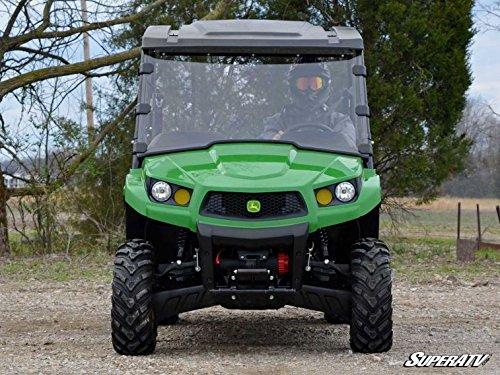 2017 John Deere Gator XUV 590i Scratch Resistant Full Windshield by Super ATV WS-JD-XUV-70 by Super ATV