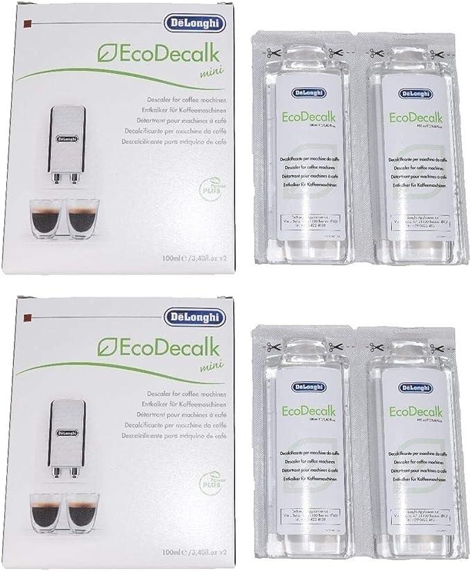 Delonghi entkalker - Descalcificador para cafeteras (4 botellas de ...