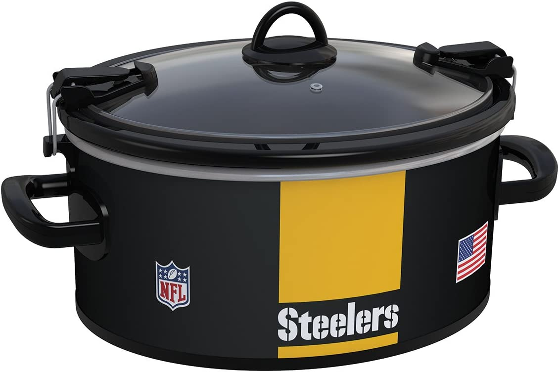 Crock-Pot Pittsburgh Steelers NFL 6-Quart Cook Carry Slow Cooker