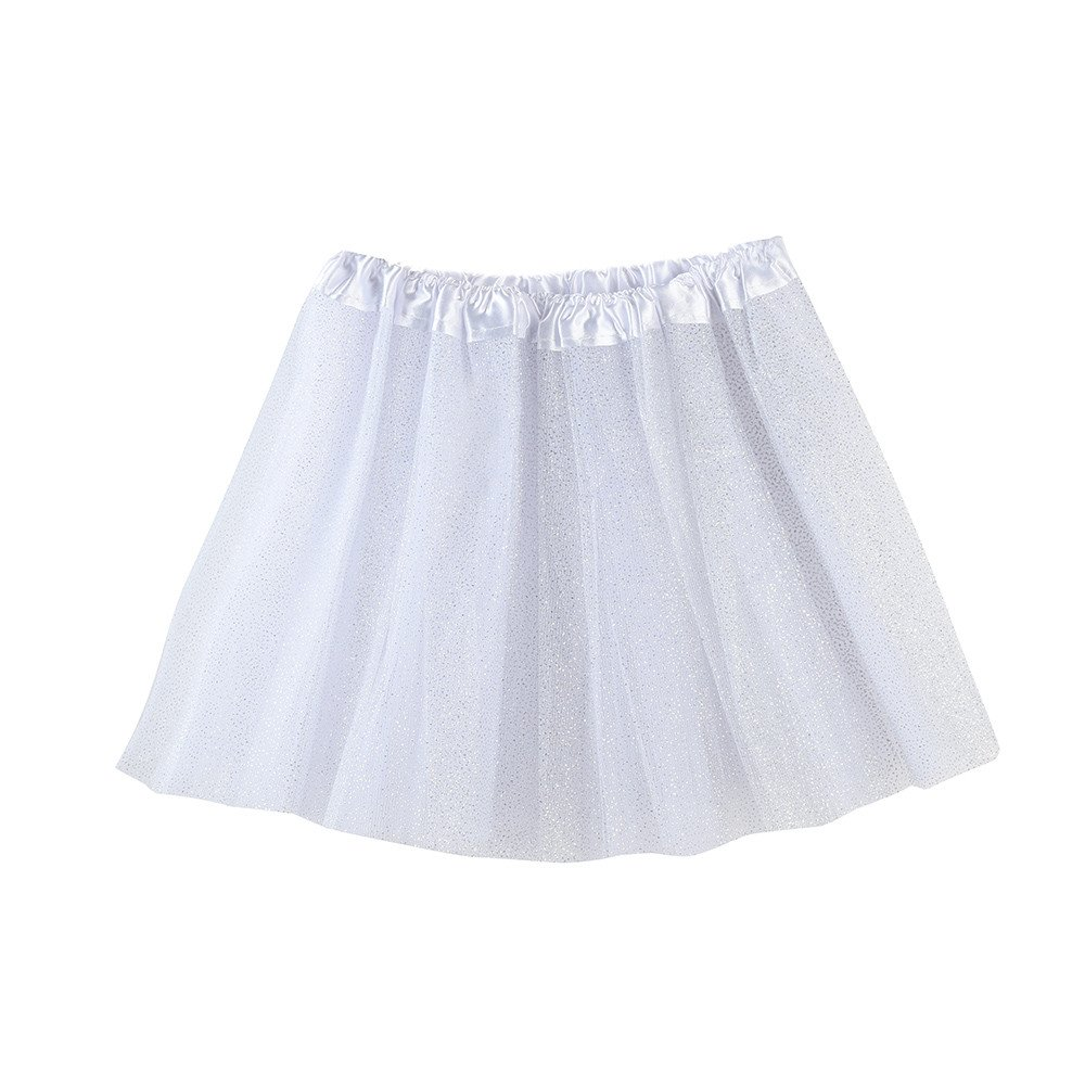 0721ee0a2 Cinnamou Falda de Ballet Niña Tutú de Malla Lentejuelas Disfraces ...