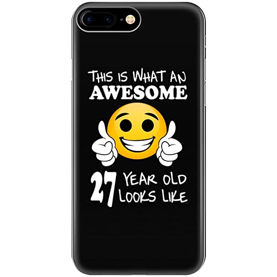 Image Unavailable Not Available For Color Emoji Birthday 27th Presents Men 27 Year Old