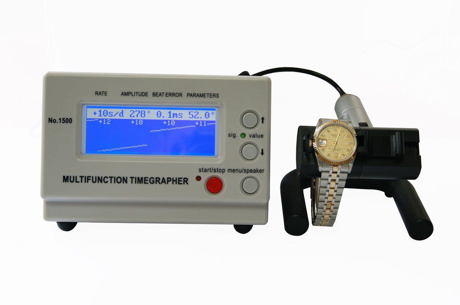 ELEOPTION Mechanical watch timing tester Timegrapher LCD Multifunction MTG-1000 by Eleoption