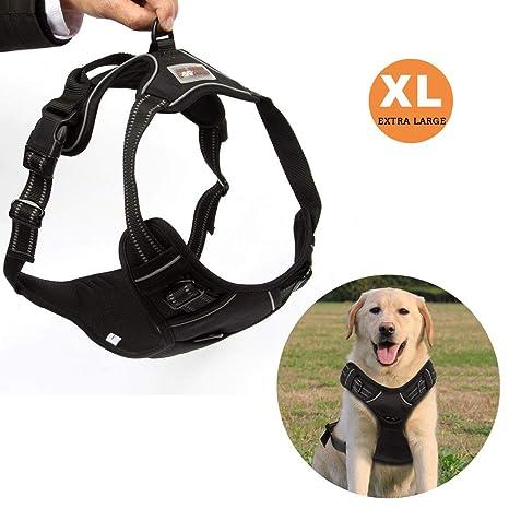Funkeen Pull arnés del perro ajustable suave para el pecho Fácil ...