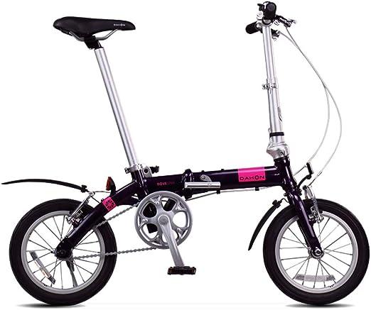 Paseo Bicicleta Bicicleta Plegable Bicicleta Unisex Adulta Mini ...