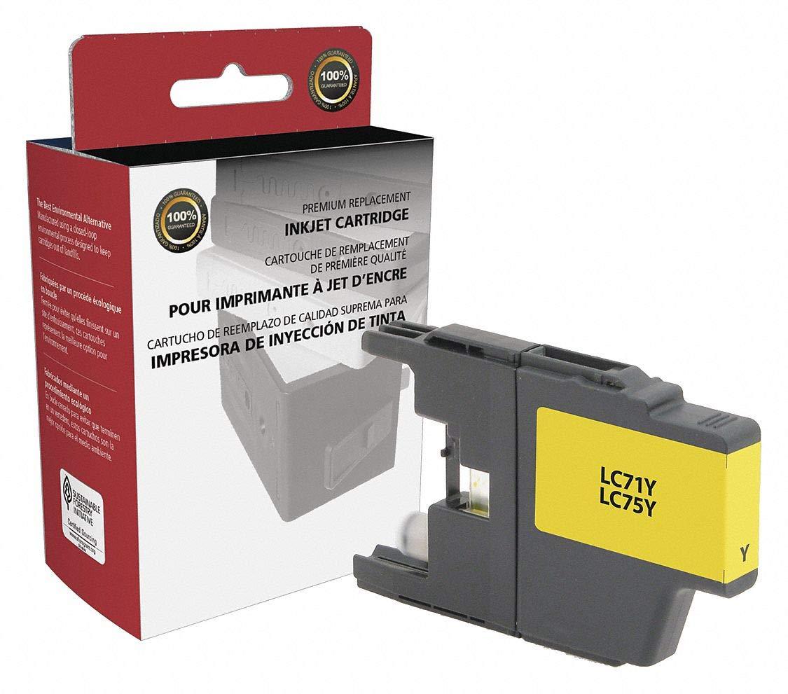 Amazon.com: Clover Brother Ink Cartridge, No. LC71Y, LC75Y ...