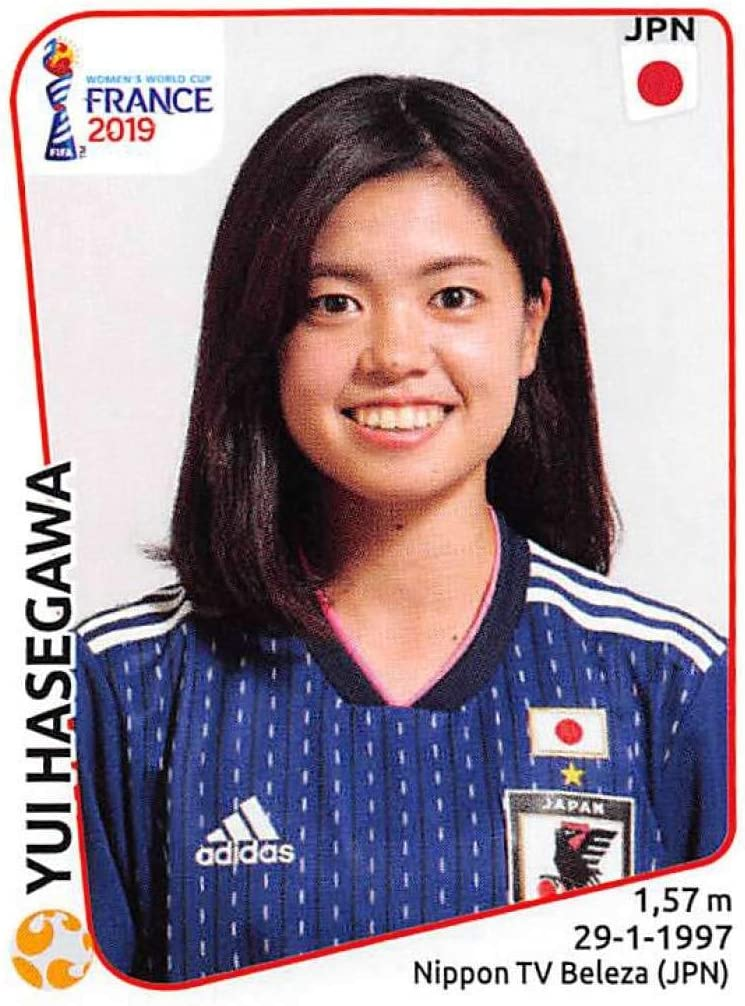 Saki Kumagai Japan Panini Frauen WM 2019 Sticker 315
