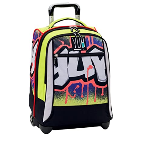 c21e6f8778 SEVEN YUB - ZAINO BIG TROLLEY URBAN BOY SCUOLA 2016 / 2017: Amazon ...
