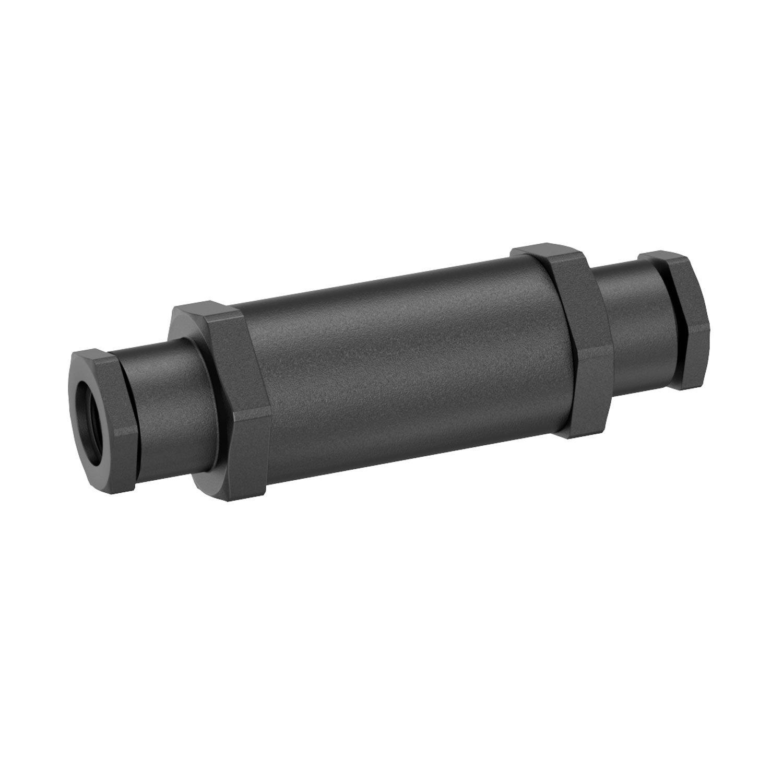 parlat LC-SS-117 IP68 Kabel-Muffe für 6-9 mm Kabel, Schwarz, 12 x ...