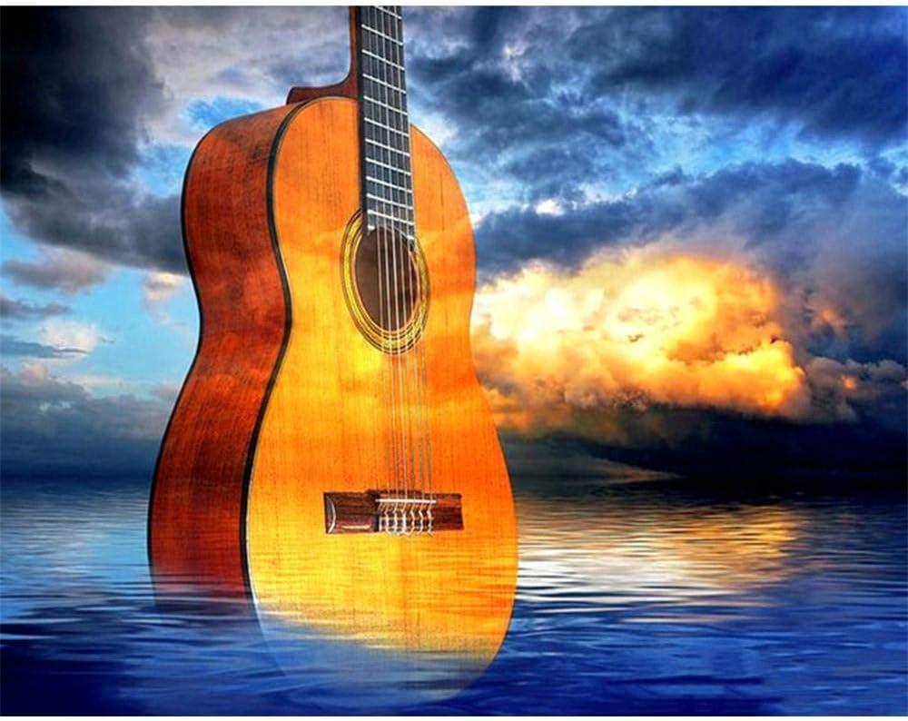 Puzzle 1000 Piezas Niños Adulto Guitarra De Agua Colección De Arte ...