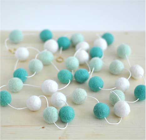 FB3 Hand Crafted 2cm 500 pc wool Felt Ball Nursery Kids Decorative pom pom beads