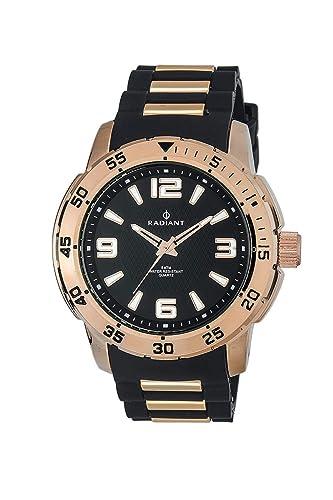 Radiant Reloj Cronógrafo para Hombre de Cuarzo con Correa en Acero Inoxidable RA313607: Amazon.es: Relojes