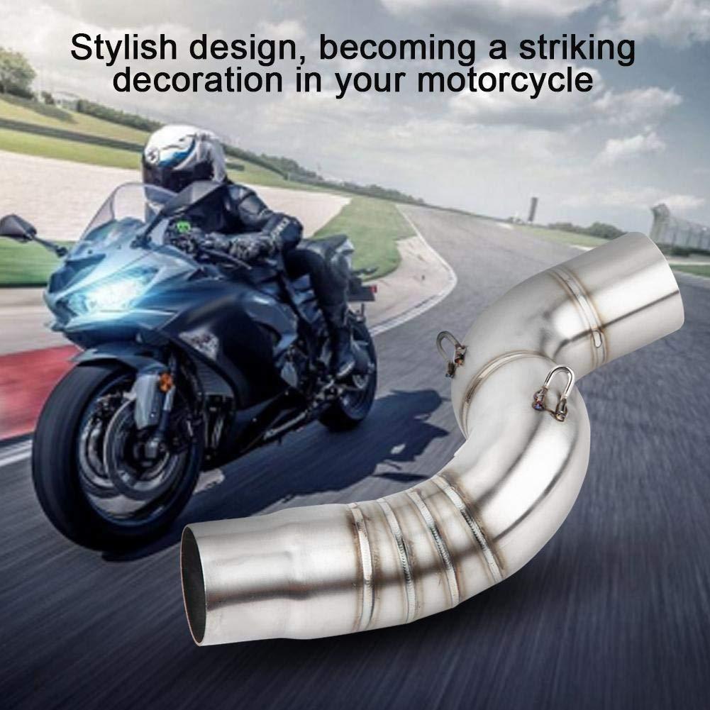 adattatore per collegamento centrale per Kawasaki Ninja ZX-6R 2005-2008. 1 PC di scarico per moto Mid-Pipe Tubo di scappamento