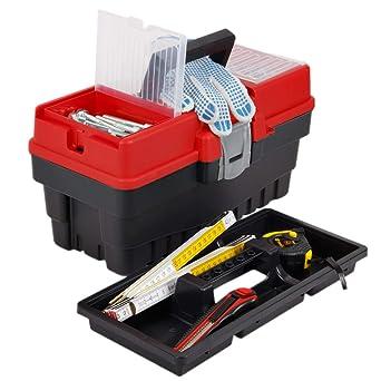 Pequeño 6 L – Maletín de herramientas 8,5 kg de carga caja de ...