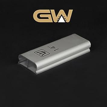 """14 """"Radio aluminio bloque de lija para guitarra diapasón/diapasón – 200 mm"""
