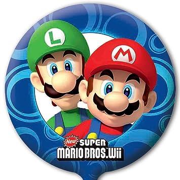 Super Mario Globo Lámina (desinflado): Amazon.es: Juguetes y ...