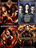 The Twilight Saga: Extended Edition Triple Feature New Moon / Eclipse DVD + The HUNGER GAMES Series 3 Movie Saga Catching Fire & Mockingjay pt.1 - 6 Disc collection