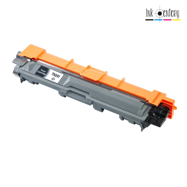 White Label 1 Ink Cartridges Schwarz kompatibel mit Brother TN241BK 2.500 Ausdrucke Brother DCP-9020 CDW // HL-3140 CW // 3150 CDW // 3170 CDW // MFC-9130 CW // 9140 CDN // 9330 CDW // 9340