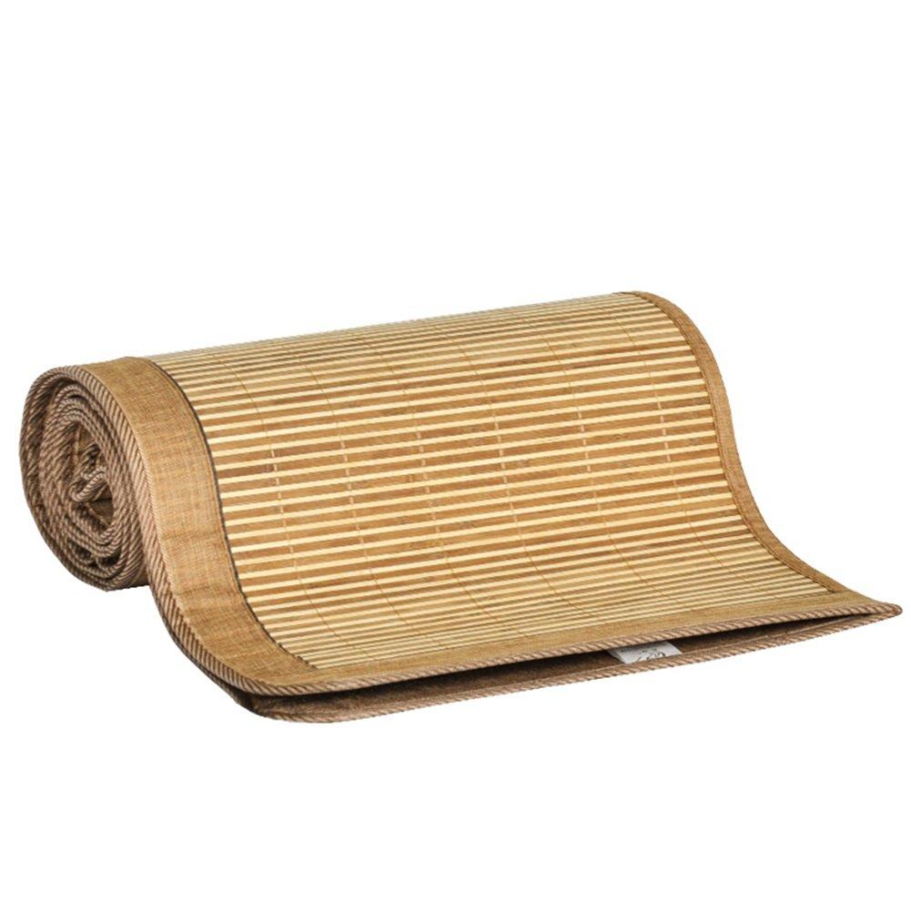 WENZHE Matratzen Matratze Bambus Rattangras Sommerschlafmatte Bettmatte Beidseitig Mittlere Naht Zusammenklappbar, 7 Größen Strohmatte Teppiche