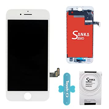 Sanka LCD Pantalla Táctil con Marco de Digitalización Asamblea Pantalla de Recambio para iPhone 7: Amazon.es: Electrónica