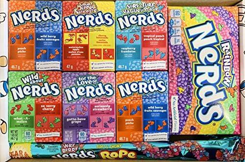 Picaboxx Premium Large Wonka Nerds Caja de regalo American Candy Selection ☆ 8 productos Value Pack ☆ American Candy Hamper ☆ Caja de regalo dulce con ventana de visualización: Amazon.es: Alimentación y bebidas